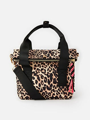 Leopard Cross Body Bike Bag