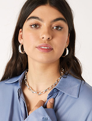 Simple Medium Chain Necklace